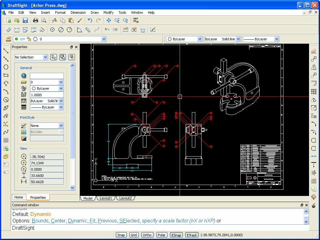 DraftSight, la alternativa a AutoCAD