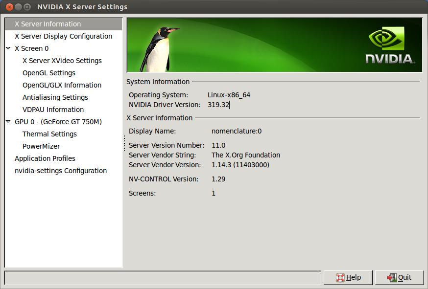 Instalar últimos controladores de Nvidia en Ubuntu 13 10 Saucy