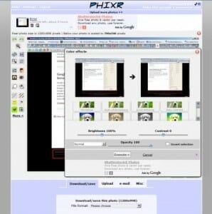 Phixr-Free-Image-Editor-Online