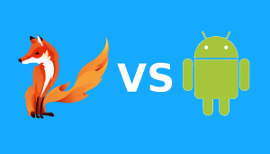 Lignux entrada firefox vs android