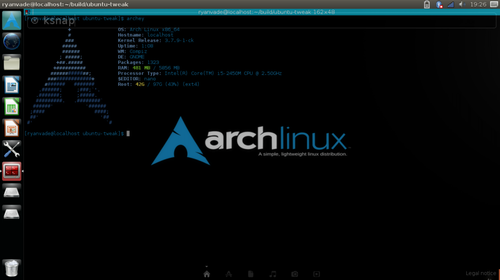unity-arch-linux