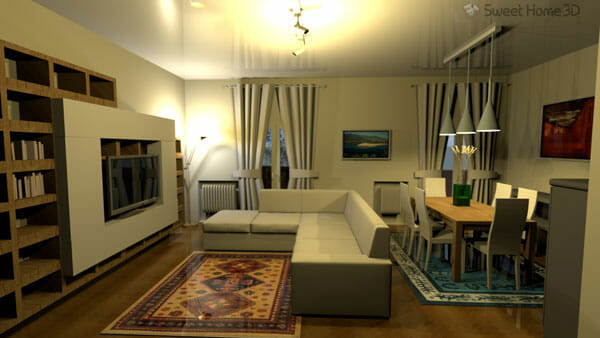 Sweet home 3d una aplicaci n libre de dise o de interiores for Aplicacion para diseno de interiores 3d
