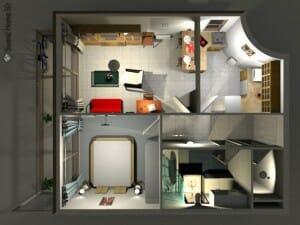 Sweet home 3d una aplicaci n libre de dise o de interiores Diseno de interiores 3d data becker windows 7