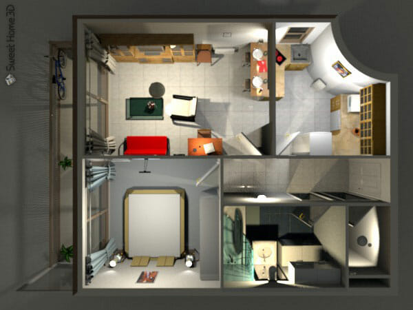 Sweet home 3d una aplicaci n libre de dise o de interiores for Programa para crear muebles 3d