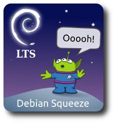 "Debian 6 ""Squeeze"" LTS"