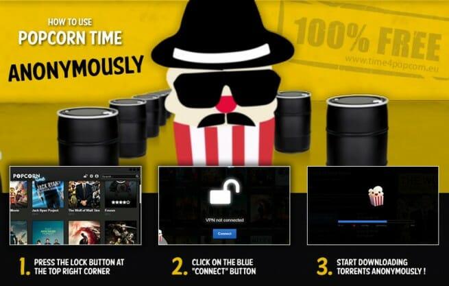 ¿Conoces Popcorn Time?, pues lo instalamos, películas por torrent