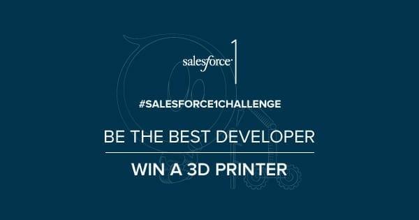 Participa en el desafío del código de Salesforce.com