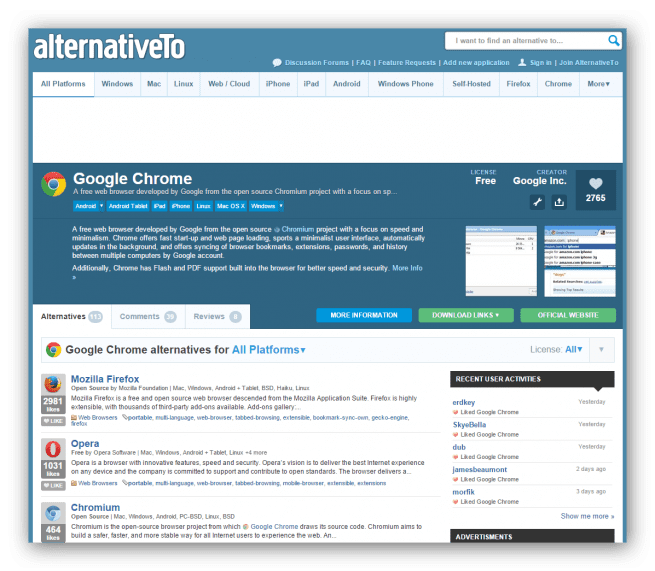 Alternativeto_ejemplo