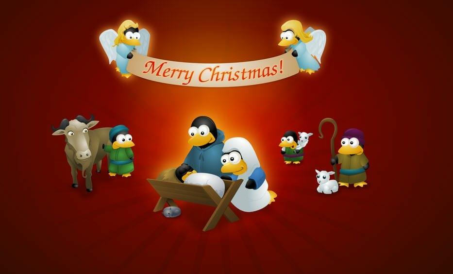 Feliz navidad - Tux