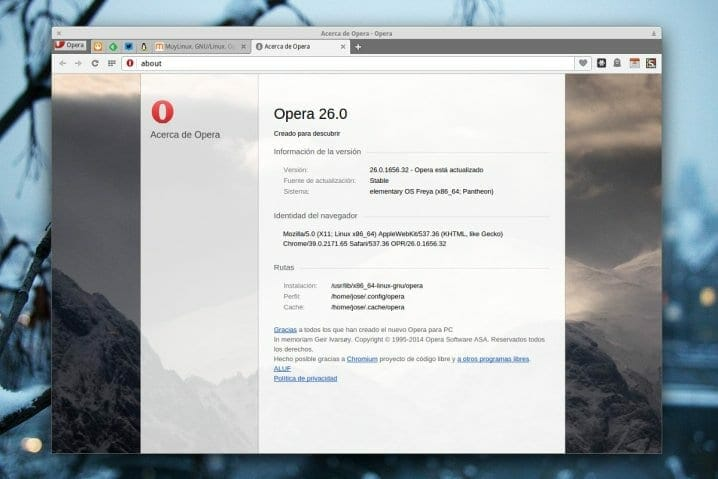 Opera 26