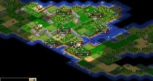 Freeciv, al igual que 0 A.D, un juego de estrategia histórico