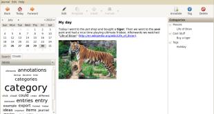 El diario open source RedNotebook alcanza su versión 2.8