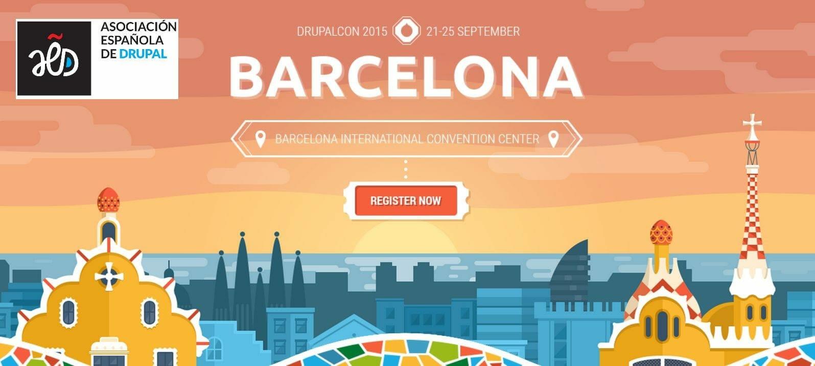 Conferencia Europea de Drupal 2015 en Barcelona