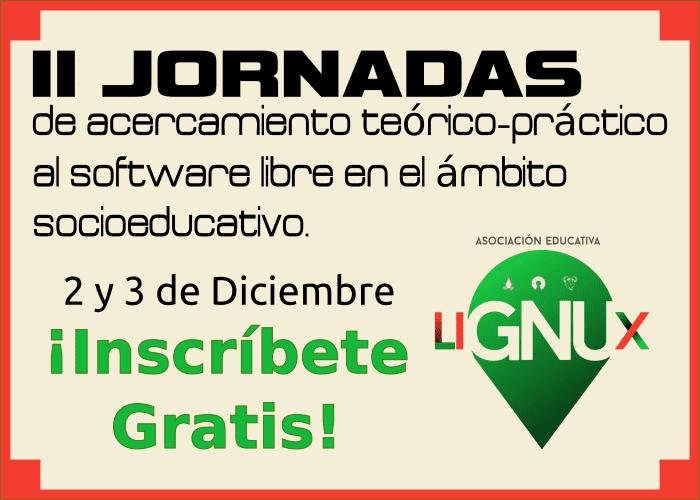 Banner II Jornadas LiGNUx Uvigo