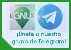 Grupo Telegram LiGNUx Pc
