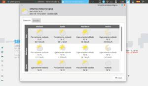 Información del clima