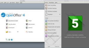 Apache OpenOffice y LibreOffice