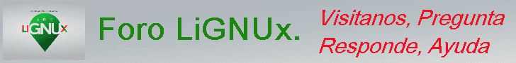 Banner foro LiGNUx