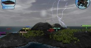 Scorched 3D, un juego de tanques en 3D basado en Scorched Earth