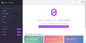 zeronet-welcome
