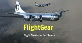 FlightGear, el simulador de vuelo Open Source publica su versión 2018.2.1