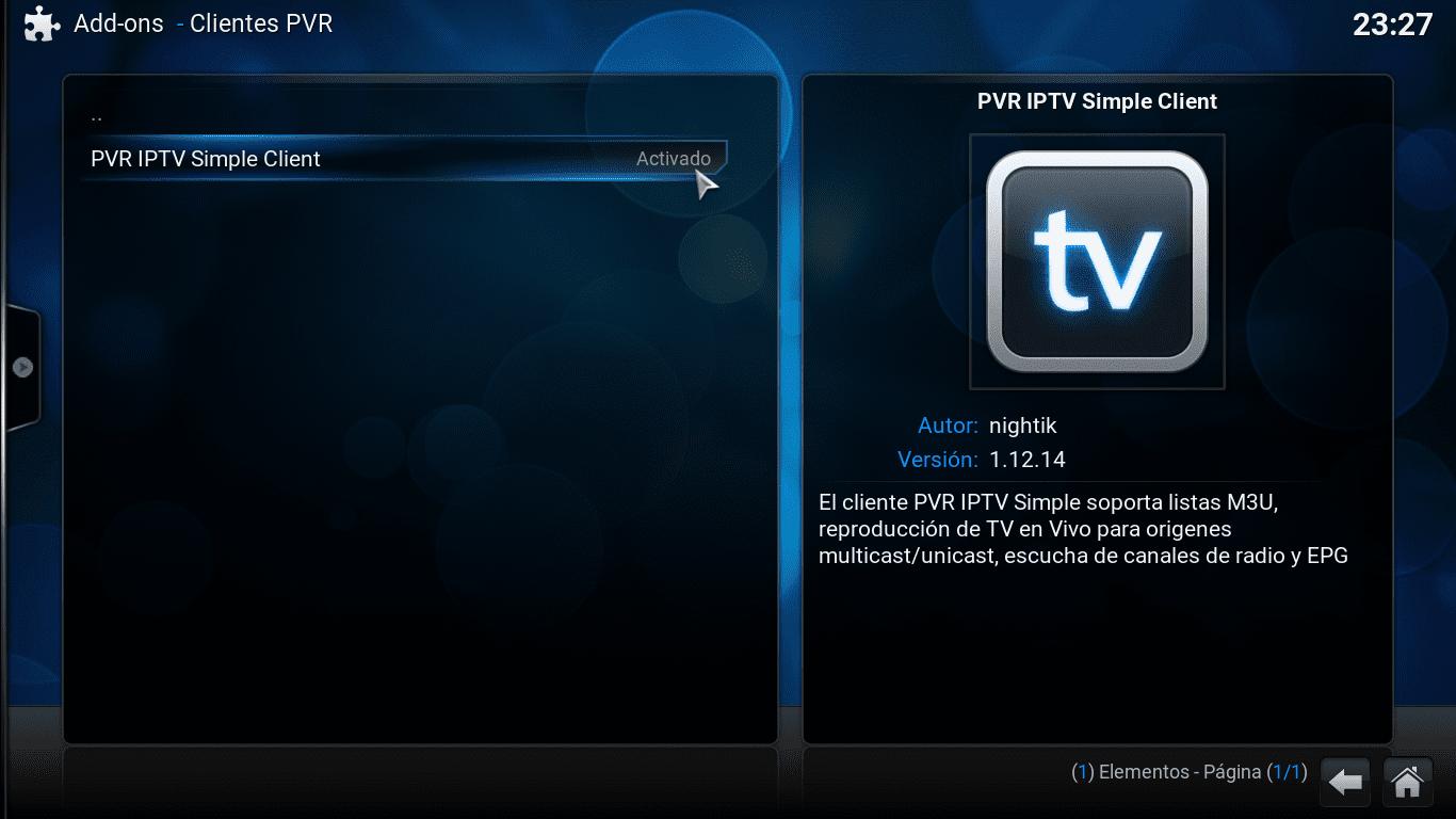 Como ver la televisión desde KODI? Los canales españoles