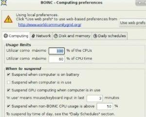 BOINC config