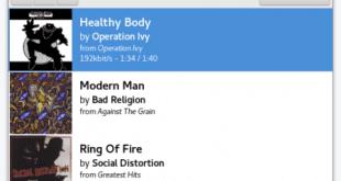 El cliente de escritorio Pithos de la radio online Pandora alcanza su versión 1.4.1