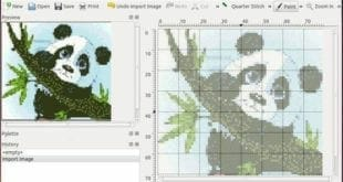 El software para crear patrones de punto de cruz KAXStitch acaba de alcanzar su versión 2.1.0