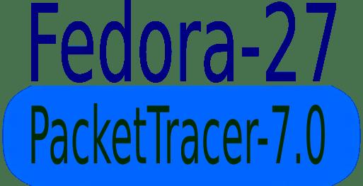 Instalar Packettracer 7.0 en Fedora 27