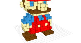 Crea figuras 3D fácilmente con Voxel Builder desde tu propio navegador web