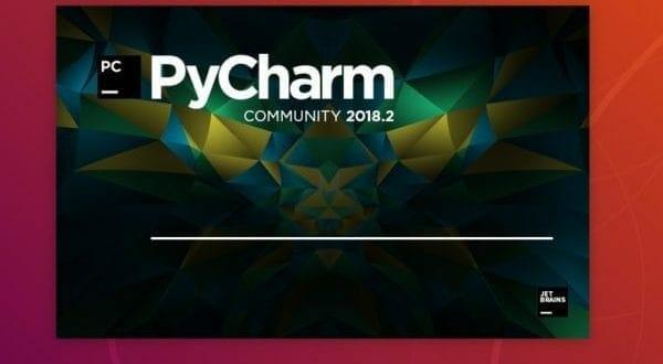 El software IDE PyCharm acaba de anunciar su versión 2018.2.5