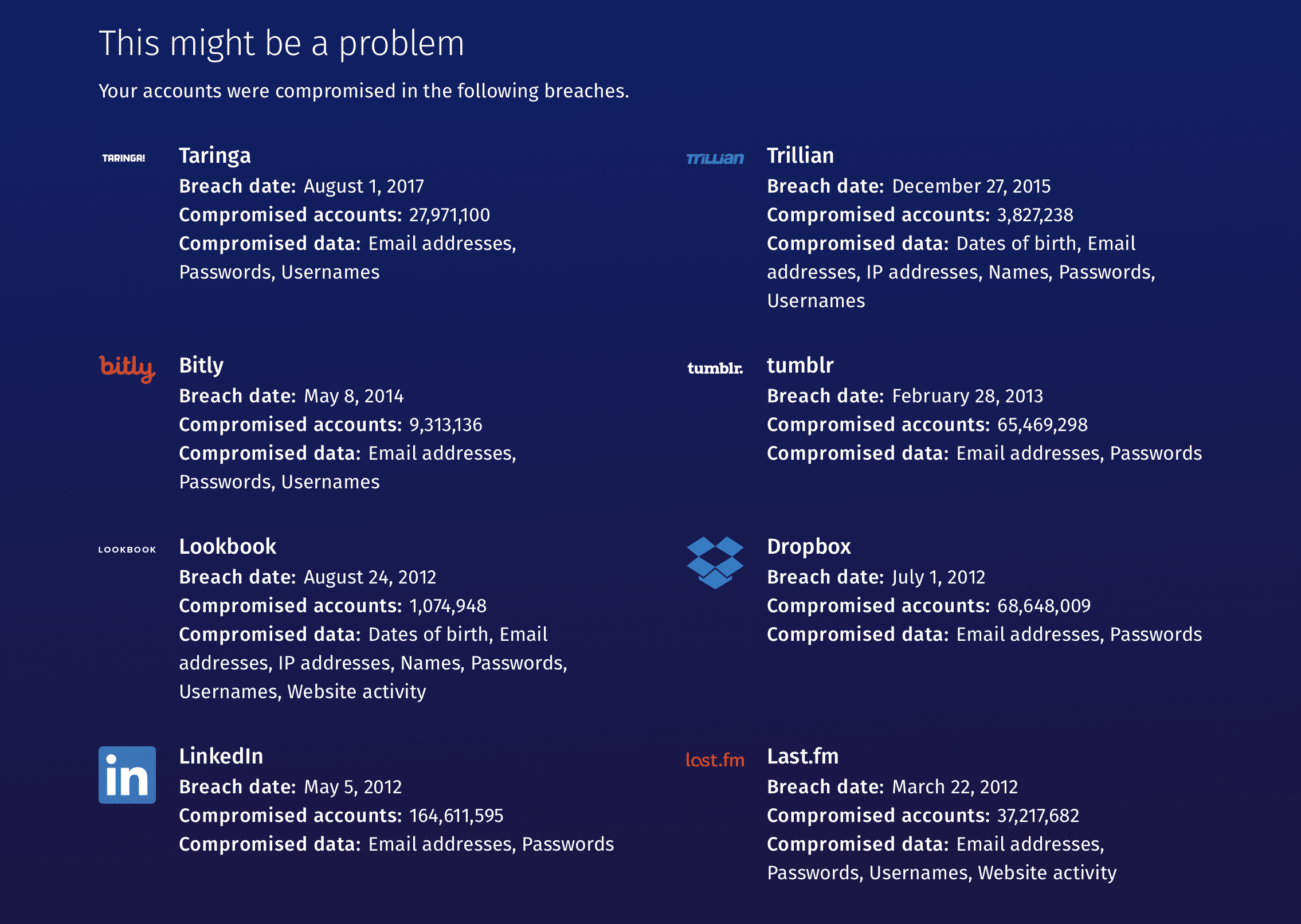 Firefox Monitor Ejemplo