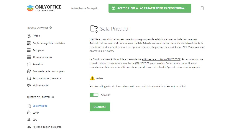 ¿Cómo coeditar documentos de forma segura en ONLYOFFICE usando Salas Privadas?